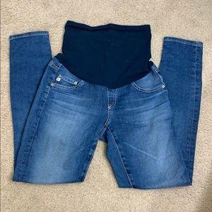 AG Secret Fit Belly Skinny Leg Maternity Jeans